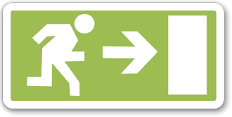 Icon-escape-route